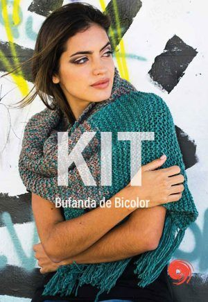 Kit Bufanda Bicolor.